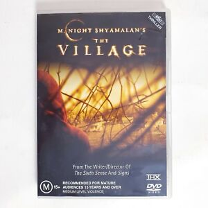 The Village Movie DVD Region 4 AUS - Thriller Fantasy