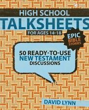 TalkSheets: High School TalkSheets on the New Testament : 50 Ready-to-Use...