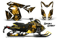 SKI-DOO REV XS MXZ RENEGADE SNOWMOBILE SLED GRAPHICS KIT CREATORX WRAP SCY