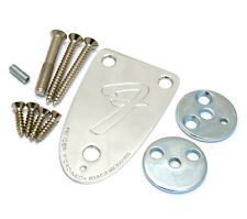 Fender USA 3-bolt Bass Neck Plate Kit for 70s Telecaster Bass & Jazz J Bass