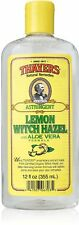Witch Hazel with Aloe Vera Lemon, Thayers, 12 oz