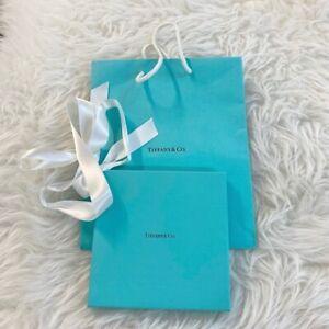 Tiffany & Co. Gift Card Box and Gift Bag