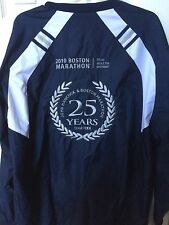 2010 Boston Marathon 25 Anniversary John Hancock L Jacket Adidas Free Shipping