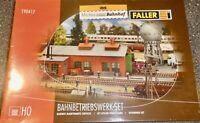 Set Dépot de Machine faller 190417 H0 1:87 Kit Jamais-Assemblé Emballage Neuf Å