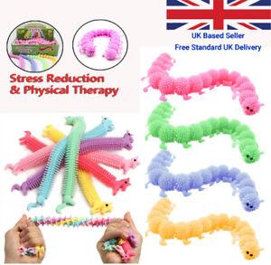 Colourful Unicorn & Caterpillar Fidget Sensory Toys Stress Relief Anti-Anxiety