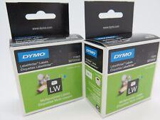 Dymo Genuine Sd11353 / S0722530 LW Multilabel Black on White -13mm X 25mm