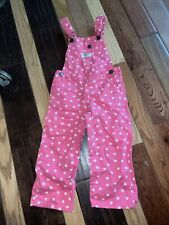 Toddler girls OshKosh overalls