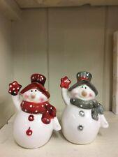 Christmas Salt and Pepper set Xmas Cruet set Snowman salt & Pepper Snowmen Cruet