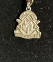 VINTAGE BSA CUB SCOUTS DEN MOTHER STERLING PENDANT