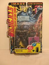 "Jim Lee's Wild C.A.T.S. Pike 6"" Action Figure Special Collector Card Rare"