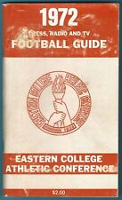 1972 Eastern College Athletic Conference Football Media Guide