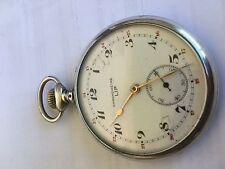 gousset lip chronomètre en argent silver