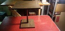 Vintage Danish Modern End Side Table 1970s