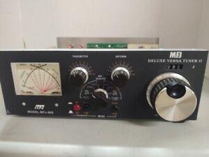 MFJ-969 300 watt roller inductor Manual antenna tuner