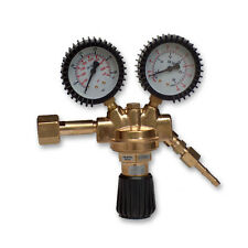 Argon/Co2 Gas Bottle Cylinder MIG TIG pressure regulator welder entry twin gauge