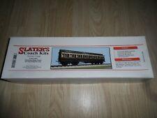 More details for slaters 7c08 o gauge gwr clerestory bogie coach kit mint in box