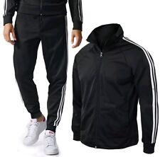 Tuta Uomo Pantaloni e Maglia completo Acetato Sport Fitness palestra uomo M/XXL