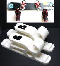 2X WHITE Snowboard Skateboard Longboard Hanger Holder Display Storage Wall Mount