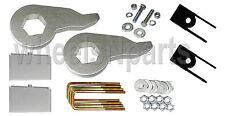 "Lift Kit Chevy 1999-06 1500 4x4 Forged Torsion Keys 3"" Aluminum Blocks Shock Ext"