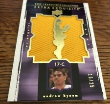2009 Exquisite Basketball  Extra Exquisite Bynum Patch 15/25 Lakers