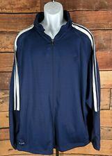 Starter~3XL 54-56~Track Jacket Full Zip Jogging Athletic Top Blue Dri-Star