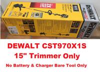 "DEWALT FLEXVOLT 60V MAX Lithium-Ion Brushless 15"" String Grass Trimmer,Bare Tool"