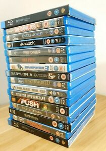 16 x Blue Ray Ultra HD Movies Bundle | Action Movies | All Great Condition