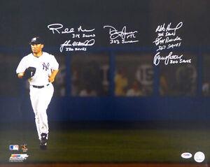 MLB 300 SAVE PITCHERS AUTOGRAPHED 16X20 PHOTO 6 SIGS BRUCE SUTTER PSA/DNA 91036