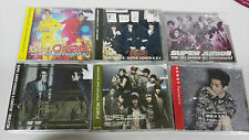 SUPER JUNIOR JOB LOTE 6 X CD + 2 DVD JAPAN AND TAIWAN EDITION DELUXE UNIQUE EBAY