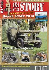 4x4 STORY N° 48 / FORD 1943 ORIGINALE - JEEP TJ KS TUNING - JEEP CJ-7