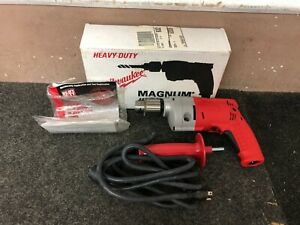 """Milwaukee 3/8"""" Magnum Hole Shooter No. 0224-1 Corded Drill NEW"""