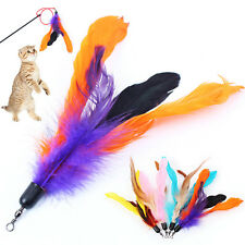 Cat toy feather refill replacement will fit Frenzy and Da Bird type wand teasers