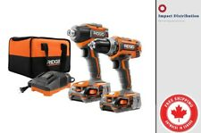 RIDGID GEN5X 18V  Brushless Cordless Drill/Driver and Impact Combo Kit R9603