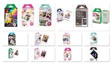 Verschiedene bunte Fujifilm Instax Mini Filme für Sofortbildkameras von Fuji !!