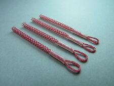 4 tressé Boucles,Micro-Loops,Minicon-saumon,Connecteurs de câble rot/nature 1,48