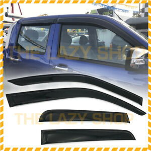 LUXURY Weathershields Weather shields for Holden Rodeo 2003-2008 T