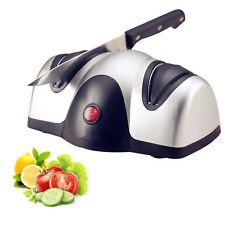 Electric 2 Stage Knife Sharpener Professional Knives Sharp New