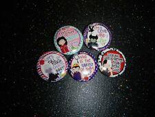 "Villians Quotes Malefifcent Evil Queen Disney 1"" Pinback Button Pin Badge Set"