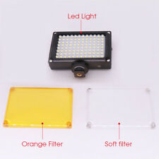 112 LED video Light Photo on Camera Hotshoe Dimmable LED Lamp Camcorder DV 1PC