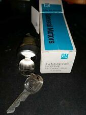 GM Trunk Lock with 2 KEYS 9632736 NOS OEM CHEVY lk coded univ  RARE HTF