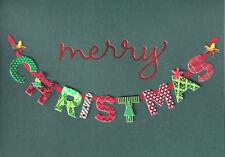 PAPYRUS CHRISTMAS CARD NIP MSRP $7.95 MERRY CHRISTMAS(GREEN) CARD (H4)
