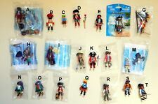 PLAYMOBIL  6434 4671 4590 5945 4127  PIRATES  IN TOP CONdITION RETIRED