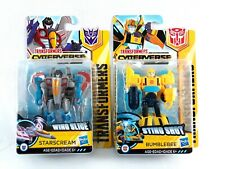 Transformers Cyberverse Starscream and Bumblebee Lot of 2