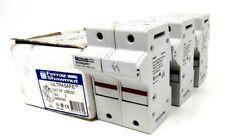 3 NEW FERRAZ SHAWMUT US6J2I FUSE HOLDER 60AMP  BOX OF 3 D223310C