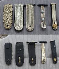 5 Original Einzel - Schulterklappen Marine Fähnrich bis Korvettenkapitän 2.WK