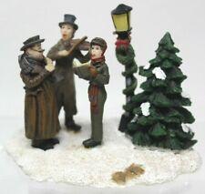 "Norman Rockwell Christmas Village ""Christmas Carol"" The Saturday Evening Post S3"