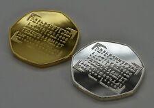 JRR TOLKIEN & MIDDLE EARTH Silver & 24ct Gold Commemoratives. Rune Translator