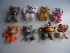 LOT D'ANIMAUX POLLY POCKET N° 2/4/7/8/20/24/25/27 -Lot n°1-