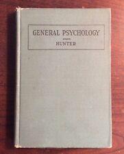 General Psychology (1925, Hardcover) Walter S Hunter PreOwnedBook.com