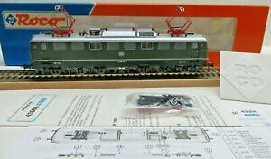 Roco 43584 H0 E-Lok Br 150 E 50 114 DB Mi.anleitung And Accessory Bag New Boxed